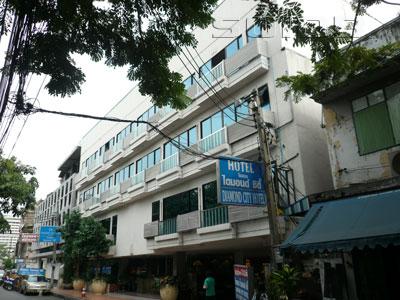 A photo of Diamond City Hotel