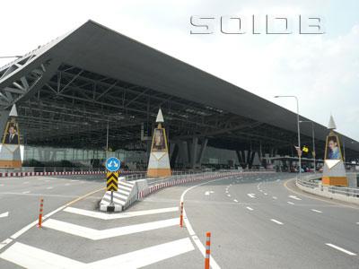 A photo of Suvarnabhumi Airport