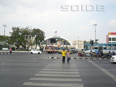 A photo of SRT - Hua Lamphong(North/NE Line)