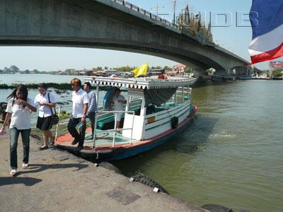 チャオプラヤ・渡し船の写真