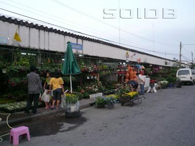 テウェート市場の写真