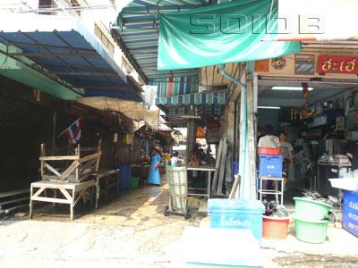 バンラック市場の写真