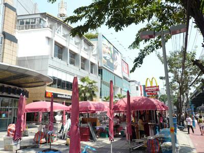 露店街 - メジャー・ピンクラオの写真