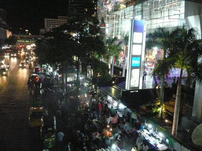 露店街 - セントラル・ワールドの写真