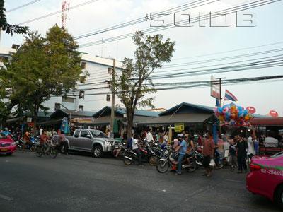 ランサイ市場の写真