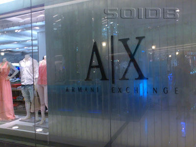 Armani Exchange - The Emporium