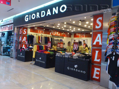 A photo of Giordano - MBK Center