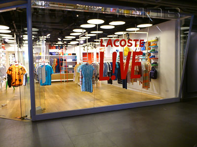 A photo of Lacoste - Siam Center