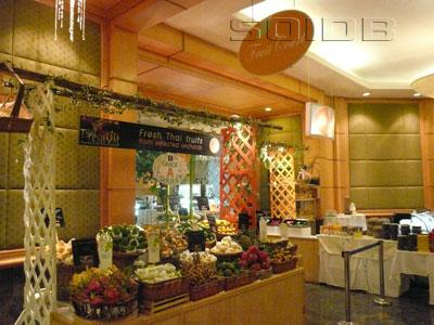 A photo of Fruit Court - Baiyoke Sky Hotel