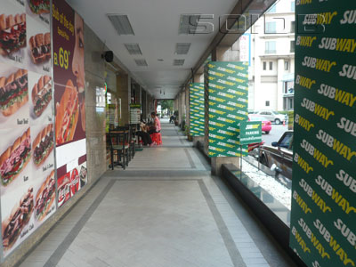 A photo of Subway - President Park