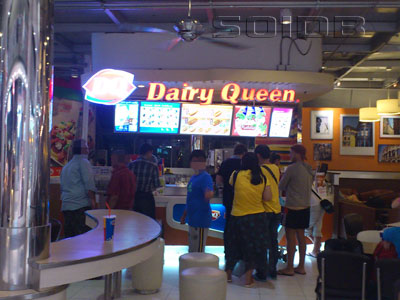 A photo of Dairy Queen - Suvarnabhumi Airport