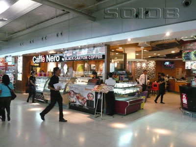 A photo of Caffe Nero - Suvarnabhumi Airport