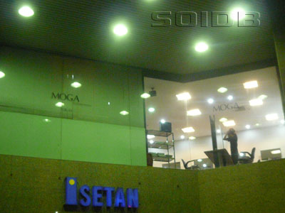 A photo of MOGA International - Isetan