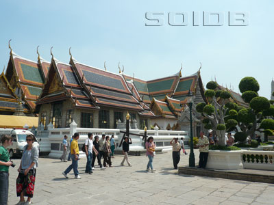 A photo of Phra Maha Monthian - Grand Palace
