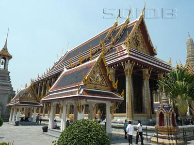 エメラルド寺院本堂 - ワット・プラケオの写真