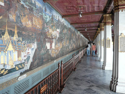 The Galleries - Wat Phra Kaew