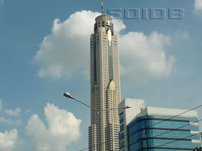 A photo of Baiyoke Tower II