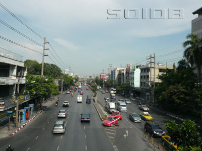 A photo of Rama 4 Road
