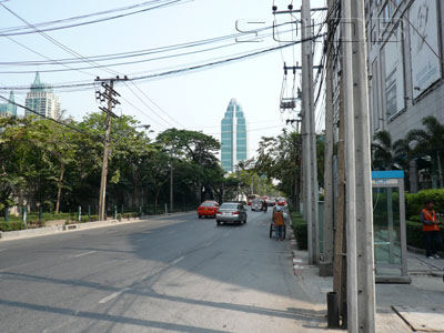 A photo of Wireless (Wittayu) Road