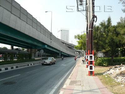 A photo of Wiphawadi-Rangsit Road