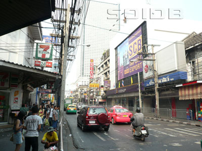 A photo of Charoen Krung Road