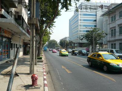 A photo of Lan Luang Road