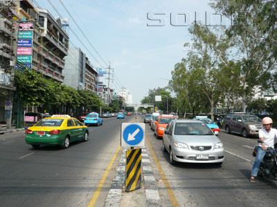 A photo of Prachachuen Road