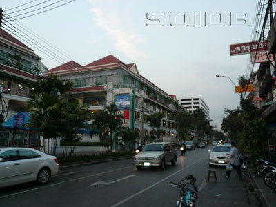 A photo of Burapha Road