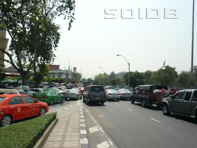 A photo of Atsadang Road