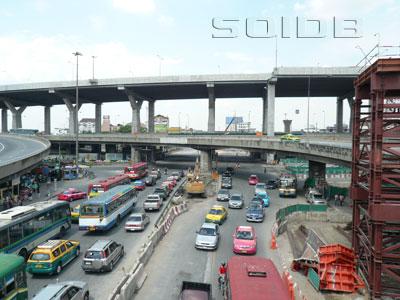 A photo of Bang Na Intersection
