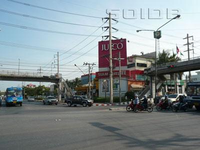 A photo of Ekkachai Rd - Bangkhunthian Rd