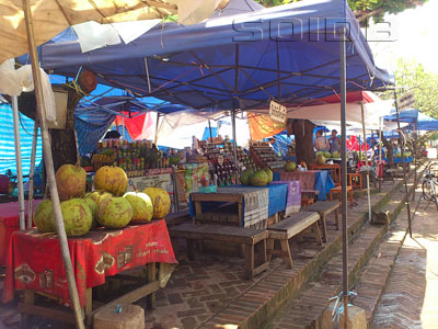 A photo of Hmong Market (Fruit Shakes and Sandwiches Stalls)