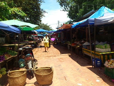 A photo of Market - Wat Phonxay Sanasongkham