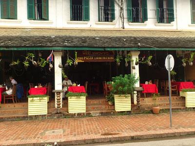 A photo of The Pizza Luang Pra Bang