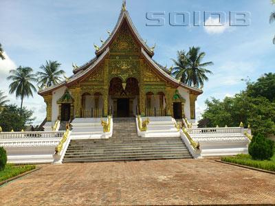 A photo of Haw Pha Bang