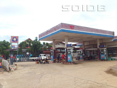 A photo of Lao State Fuel Company - Northern Bus Station