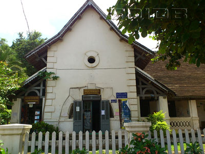 ルアンパバーン図書館の写真