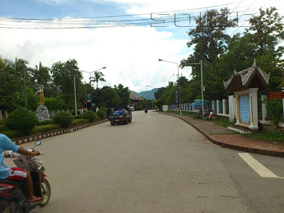 A photo of Phothisalath Road