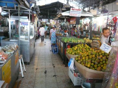 ワットチャイ・モンコン市場の写真