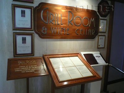 A photo of Grill Room & Wine Cellar