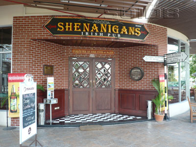 Shenaningans Irish Pub - The Avenue Pattaya