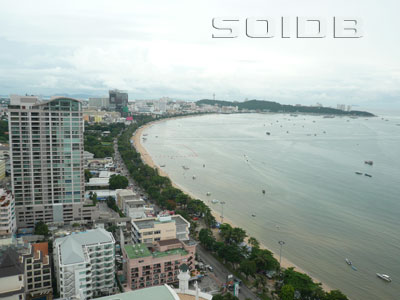 A photo of Pattaya Beach Road