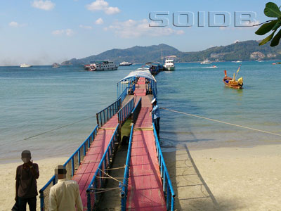 A photo of Pier @ Patong Beach