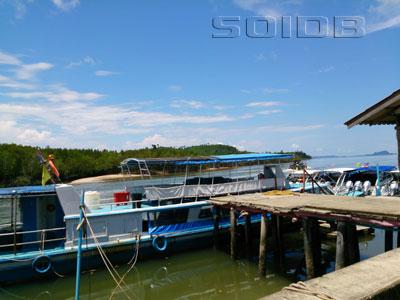 A photo of Bang Rong Pier