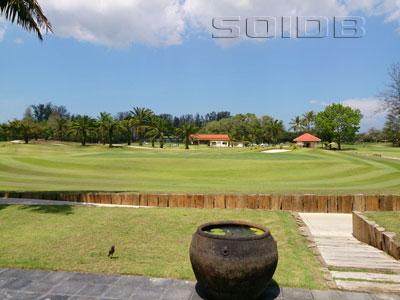 ドライビング・レンジ@ラグーナ・プーケット・ゴルフ・クラブの写真
