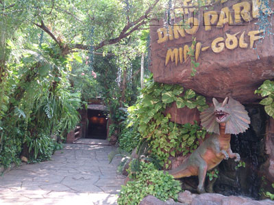 A photo of Dino Park Mini Golf