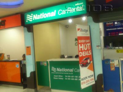 National Car Rental Phuket International Airport Phuket Car