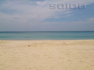A photo of Surin Beach