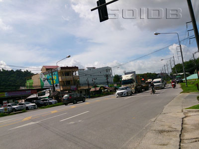 A photo of Vichit Songkram Road