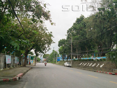 A photo of Narison Road